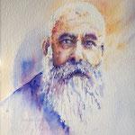 Painting Claude Monet 22  X 15 inch - 56 x 38 cm - 480,00 Euro