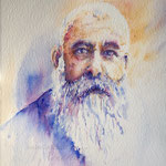 Painting Claude Monet 22  X 15 inch - 56 x 38 cm - 420,00 Euro