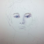 Windows to the Soul - Camille Claudel / 15 in. x 22 in. - 38 x 56 cm - 520,00 Euro