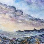 Cornwall Coastline   15 in. x 22 in. - 38 x 28 cm - 420,00 Euro