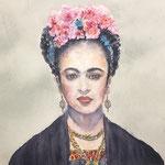 Frida Kahlo 15 in. x 22 in. - 38 x 56 cm - 760,00