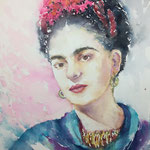 In love with Frida Kahlo 15 in. x 22 in. - 38 x 56 cm - 520,00 Euro