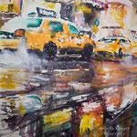 Lower Manhattan, 12 in. x 16 in. - 31 cm x 41 cm - 480,00 Euro