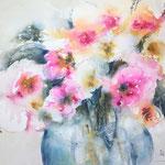 January Bouquet  16 in. x 12 in. - 41 x 31 cm - 280,00  Euro