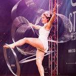 Hula Hoop Show in Augsburg