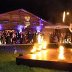 Feuershow München Bayerische Wirtschaftsnacht