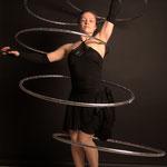 Hula-Hoop-Künstler