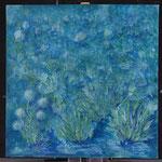 Marais acrylique sur toile coton