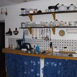 Arbeitsplatz in der historischen Küche