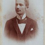 Oskar (Osias) Wien um 1900
