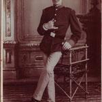 Osias Erdheim bei der Landwehr in Sambor 1893