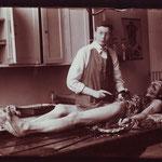 Jakob Erdheim, berühmter Pathologe, um 1910