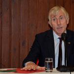 Professor Alois Woldon, Laudator für Claudia Erdheim, Niederhollabrunn 2019