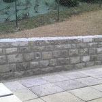 Muret pierre