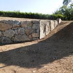 Muret en pierres de Grésy