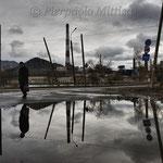In attesa dell'autobus, Karabash città