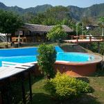 Nach der Pampatour geniessen wir noch fast eine Woche die Annehmlichkeiten des Hotels El Mirador in Rurrenabaque