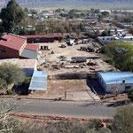 Blick auf Hinterhof in San Jose de Jachal.