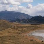 Chilenische Seite des Paso Roballos