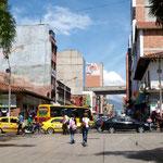 In Medellin fühlen wir uns trotz des dichten Verkehrs wohl