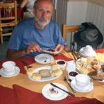 In Gaiman, das von Einwanderern aus englischen Wales geründet wurde, geniessen wir einen typischen Afternoon Tea.