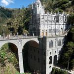Felsenkirche von Las Lajas, nahe der Grenze Equador/Kolumbien