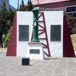 Genau hier wurde 1907 das erste Mal Erdöl gefunden in Comodore Rivadavia.