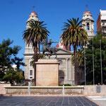 Plaza der Stadt Mercedes, Uruguay