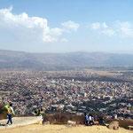 Cochabamba von oben