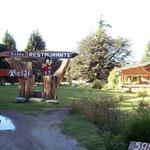 San Carlos de Bariloche wird die Schweiz von Argentinien genannt und so vermarktet