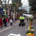 Die Polizei von Bogota geht, oder eben nicht, mit der Zeit