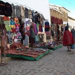 Sonntagsmarkt von Tarabuco.