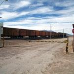 Bei der Grenzstation Chile / Bolivien in Ollagüe.