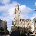 Zentrum von Montevideo