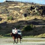 Gaucho auf dem Weg zum Rodeo