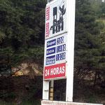 In Equador ist der Diesel wirklich billig. Preise in US-$, nicht etwa pro Liter sondern Gallone