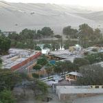 Rund um die Oase Huacachina hat es ca. 200m hohe Sanddünen