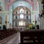 Die Kirchen sind meist reich verziert, hier das Franziskanerkloster in Santa Rosa de Ocopa