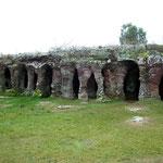 Die Säulen der Gruta del Palacio, bei Trinidad in Uruguay. Sie sind schätzungsweise 70 Milionen Jahre alt