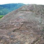 El Fuerte de Samaipata, eine Kultstätte der Mojocoyas 800-1300 n Chr., im Nordosten Boliviens