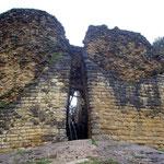 Die schmalen Eingänge der Chachapoya-Festung Kuélap waren einst leicht zu verteidigen
