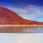 Laguna Verde in Bolivien.