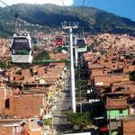 Metrocable in Medellin