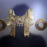 Im Goldmuseum von Bogota sieht man viel Goldschmuck aus vorspanischer Zeit