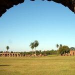 Vom Jesuitendorf Trinidad, das 1706 gegrüdet wurde, stehen noch Mauern von Häusern und Werkstätten der indigenen Bewohner