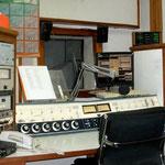 Senderaum des Radiosenders ZP30. Er produziert in Paraguay viele deutschsprachige Sendungen