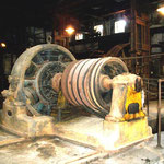 Die ersten Generatoren Uruguays, in der Fleischkonservenfabrik Liebig in Fray Bentos