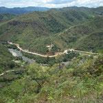 Rio Blanco Canchis, Grenzfluss Peru-Equador