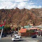 Aussicht vom Oberland - das ist aber in La Paz