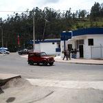 Grenzgebäude Kolumbien-Equador
